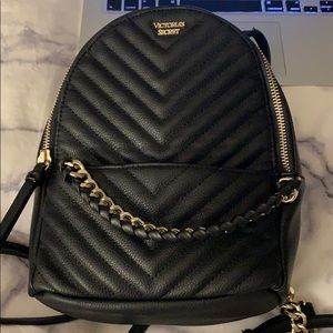 VS Pebbled V-Quilt Small City Backpack